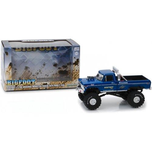 Bigfoot #1 The Original Monster Truck (1979) - 1974 Ford F-250 Monster Truck 1:43