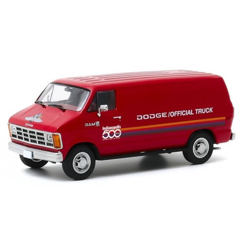 1987 Dodge Ram B150 Van 71st Annual Indianapolis 500 Mile Race Official Truck 1:43