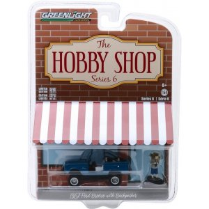 1967 Ford Bronco (Doors Removed) with Backpacker Solid Pack - The Hobby Shop Series 6 1:64