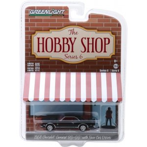 1968 Chevrolet Camaro RS/SS with Race Car Driver Solid Pack - The Hobby Shop Series 6 1:64
