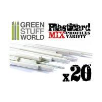 ABS Plasticard - Profile - 20x Variety Pack Не