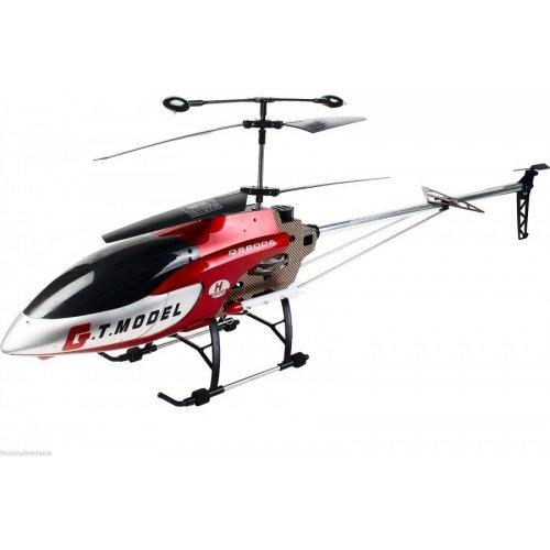 Helicopter G.T. Model, QS8006 Giant LG. 134cm, 3.5CH, gyroscop,  80m, Rosu cu Telecomanda
