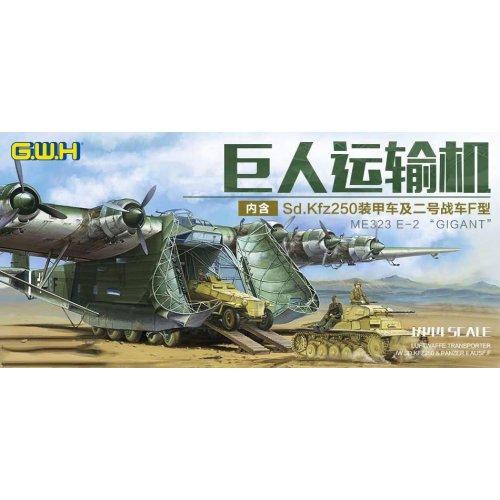 1:144 WWII Luftwaffen Messerschmitt Me 323 E-2