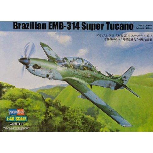 1:48 Brazilian EMB314 Super Tucano 1:48