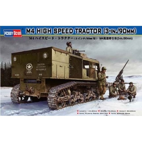 1:35 M4 HIGH SPEED TRACTOR (3-in./90mm) 1:35