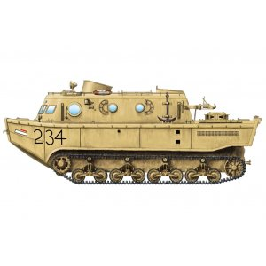 1:72 German Land-Wasser-Schlepper (LWS) amphibious tractor Early production 1:72