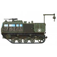 1:72 M4 High Speed Tractor (155mm/8-in./240mm) 1:72