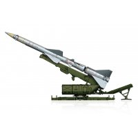 1:72 SAM-2 Missile with Launcher Cabine 1:72