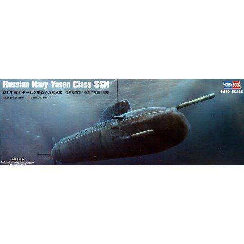 1:350 Russian Navy Yasen Class SSN 1:350