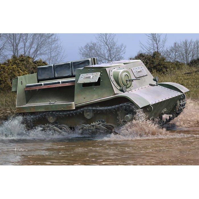 1:35 Soviet T-20 Armored Tractor Komsomolets 1940 1:35