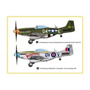 1:48 P-51D Mustang IV Fighter 1:48