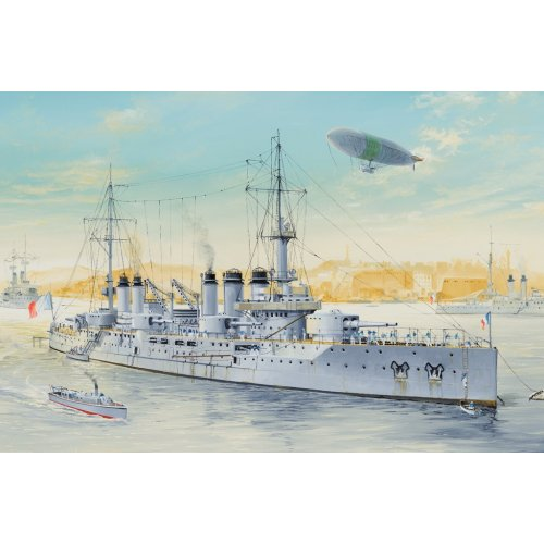 1:350 French Navy Pre-Dreadnought Battleship Voltaire 1:350