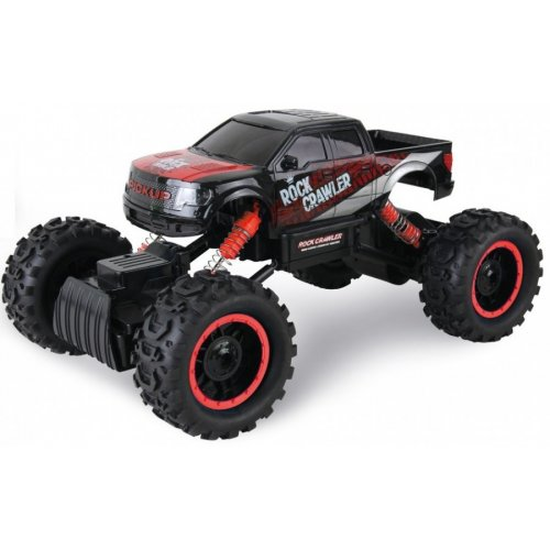 Rock Crawler 4WD 1:14  Black and Red