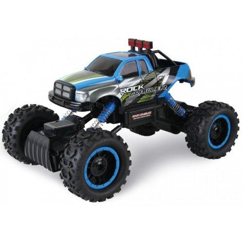 Masina HB, Rock Crawler 4WD 1:14 Cu Telecomanda - Albastru