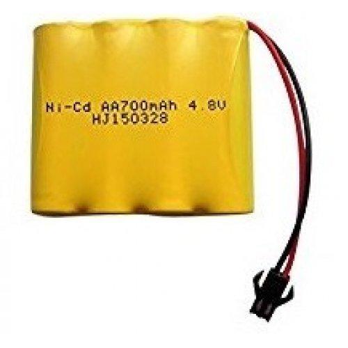 700mAh 4.8V Ni-Cd SM HB-P1801