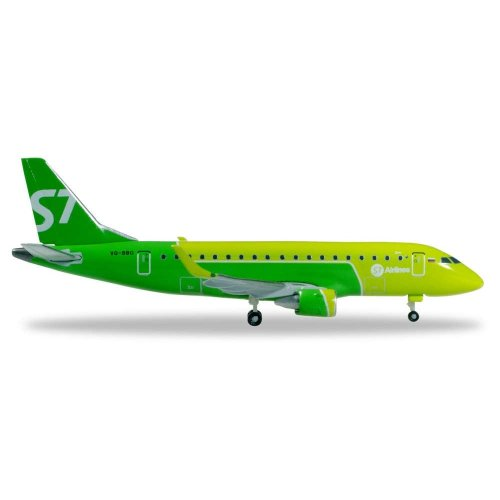 S7 AIRLINES EMBRAER E170 - NEW COLORS - VQ-BBO 1:500