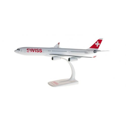1:200 Swiss International Air Lines Airbus A340-300 - snap-fit 1:200
