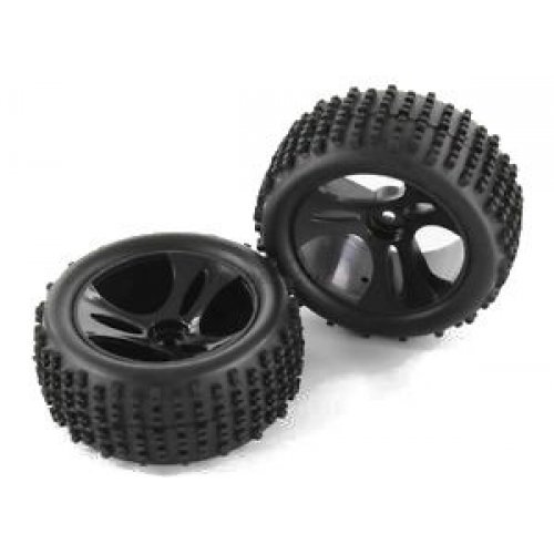 Buggy 1:18 wheels 2pcs - 58030
