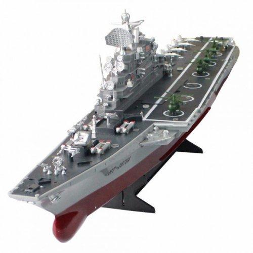Barca USS Wasp aircraft carrier 1:350 2.4GHz RTR cu telecomanda