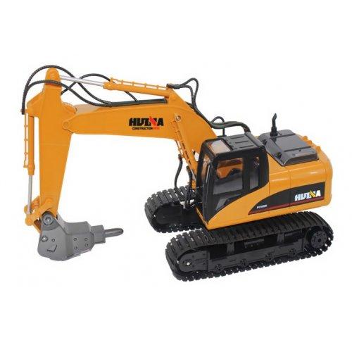 Excavator cu Breaker, 1:14 16CH 2.4GHz RTR Cu Telecomanda