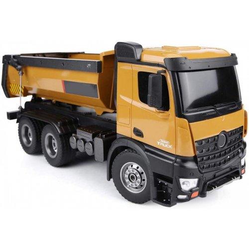 Camion H-toys, Dump Truck 1:14 10CH 2.4GHz RTR cu telecomanda