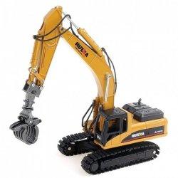 Utilaj de constructie H-Toys, Excavator cu grapple scara 1:50