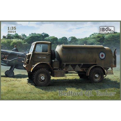 1:35 Bedford QL Tanker 1:35