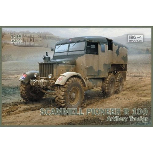 1:35 Scammell Pioneer R100 Artillery Tractor 1:35