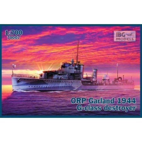 1:700 ORP Garland 1944 G-class destroyer 1:700