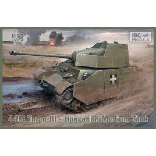 1:72 44M Turan III Hungarian Medium Tank 1:72