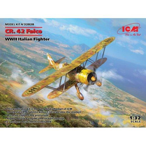 1:32 CR. 42 Falco, WWII Italian Fighter 1:32