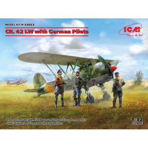 1:32 CR. 42 LW with German Pilots 1:32