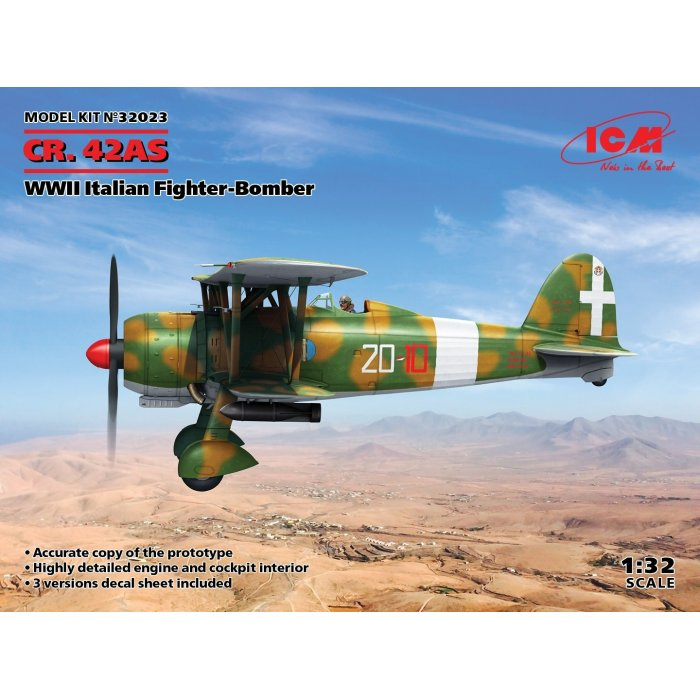 1:32 CR. 42AS, WWII Italian Fighter-Bomber 1:32