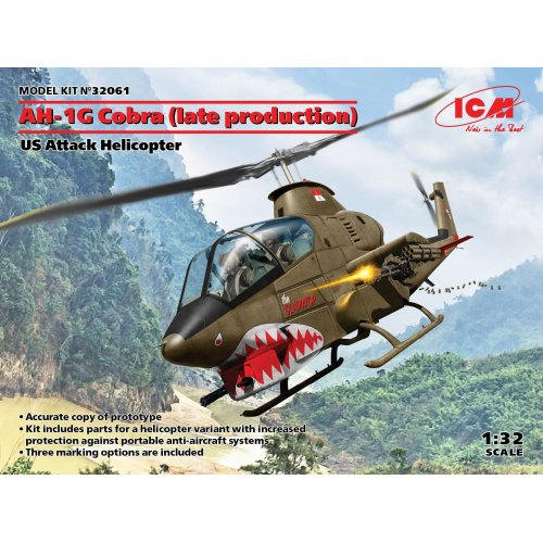 1:32 AH-1G Cobra (late production), US Attack Helicopter 1:32