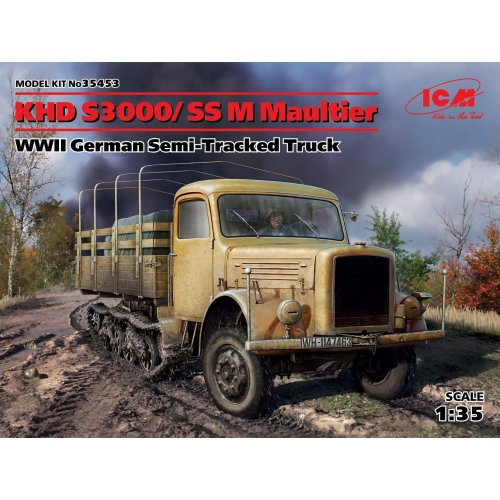 1:35 KHD S3000 / SS M Maultier, Cel De-al Doilea Război Mondial Camion German