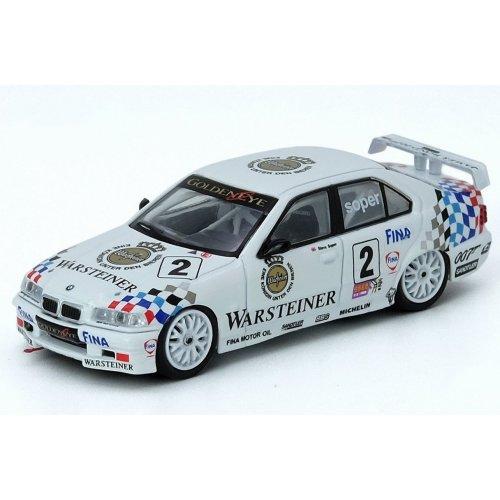 1995 BMW E36 3201 #2 Warsteiner Macau Guia Race, White 1:64