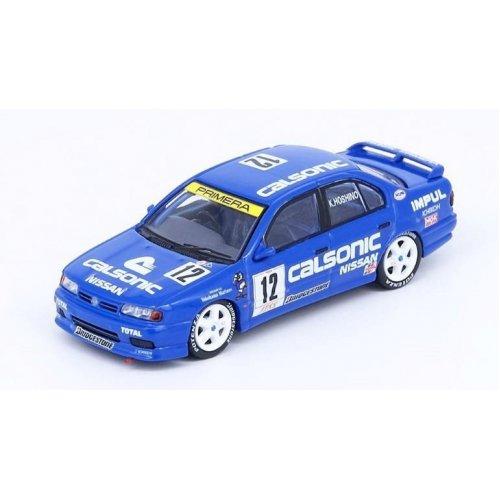 1994 Nissan Primera (P10) #12 Calsonic Jtcc, Blue 1:64