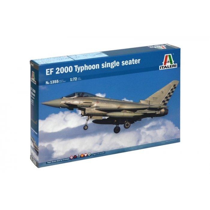 1:72 EF-2000 TYPHOON (one seater) 1:72