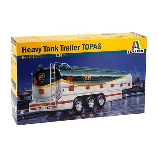 1:24 HEAVY TANK TRAILER  1:24