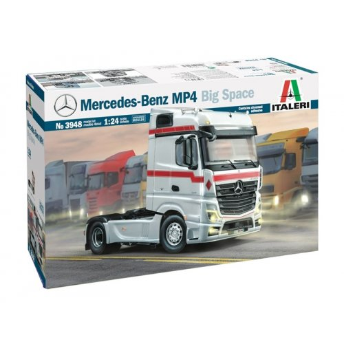 1:24 MERCEDES BENZ MP4 BIG SPACE 1:24