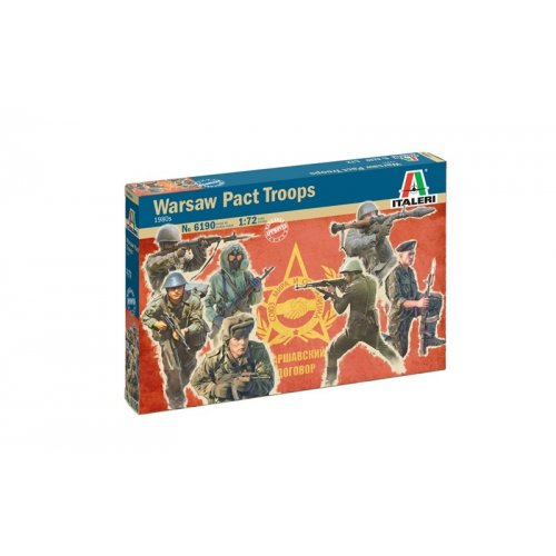 1:72 1980s WARSAW PACT TROOPS - 48 figures 1:72