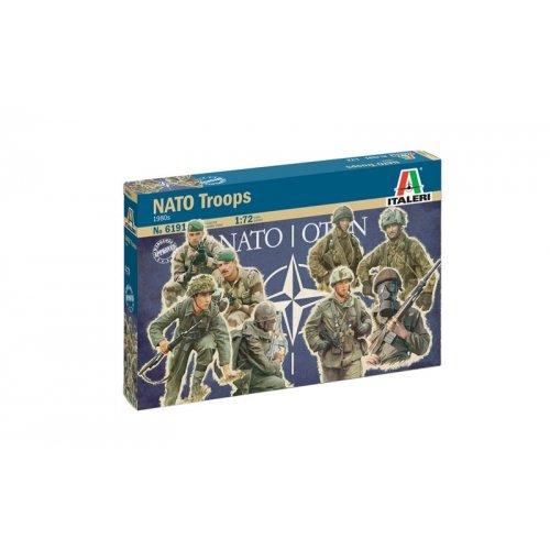 1:72 1980s  NATO TROOPS - 48 figures 1:72