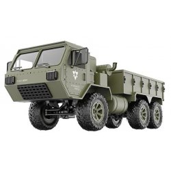 Military truck P801 1:16, 6x6, 2.4GHz, RTR - green