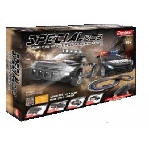 Set de joaca Masina de Politie Special 203 1:43 cu Telecomanda