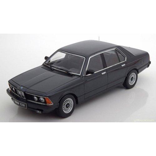 BMW 733i E23 1977 black-metallic Limited Edition 1000 pcs. 1:18