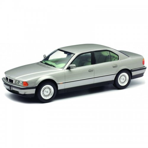 BMW 740i E38 1.series 1994 silver Limited Edition 750 pcs. 1:18