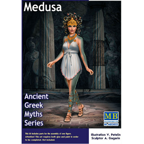 1:24 Ancient Greek Myths Series. Medusa  1:24