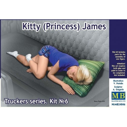 1:24 Truckers series. Kitty (Princess) James  1:24