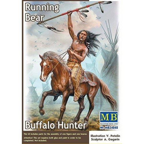 1:24 Buffalo Hunter. Running Bear  1:24