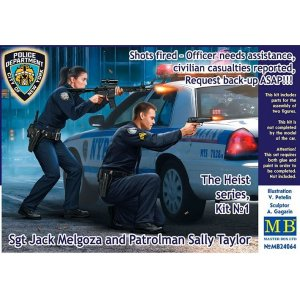 1:24 The Heist series, Kit №1. Shots fired – Officer needs assistance, civilian casualties reported, Request back-up ASAP!!! Sgt Jack Melgoza and Patrolman Sally Taylor  1:24